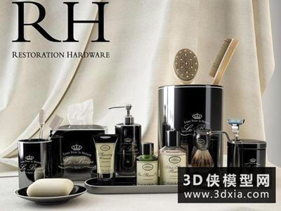 洗浴用品國外3D模型【ID:129466410】