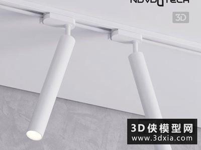 現代射燈國外3D模型【ID:929356121】