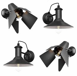 工业壁灯3D模型【ID:741359944】