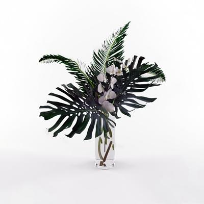 花瓶3D模型【ID:720619044】