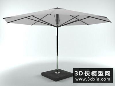 太陽傘國外3D模型【ID:329752375】