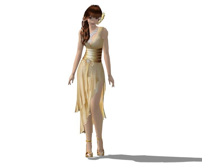 3D女人物SU模型【ID:136422791】