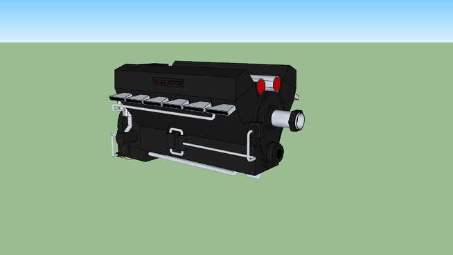羅爾斯·羅伊斯·默林發動機SU模型【ID:839935585】