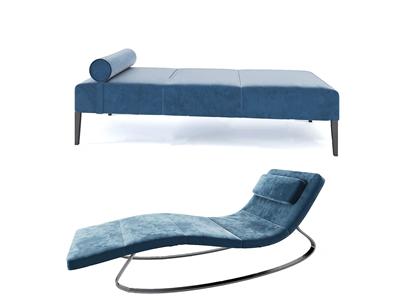现代躺椅3D模型【ID:741355392】