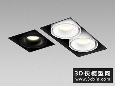 射燈國外3D模型【ID:929530120】