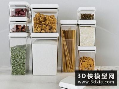 食物國外3D模型【ID:929516534】