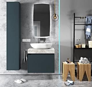 現代浴室柜浴柜配件組合3D模型【ID:120828791】