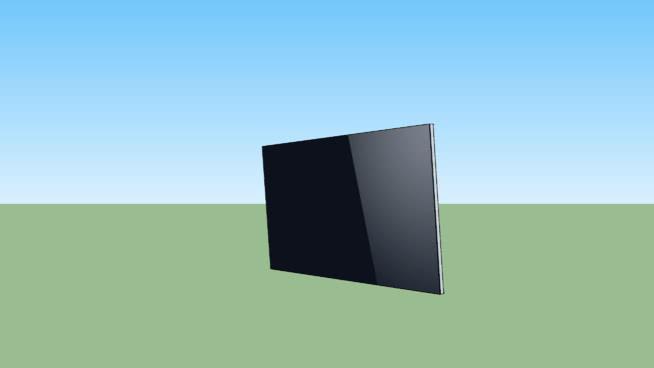 壁掛平板電視SU模型【ID:939947602】
