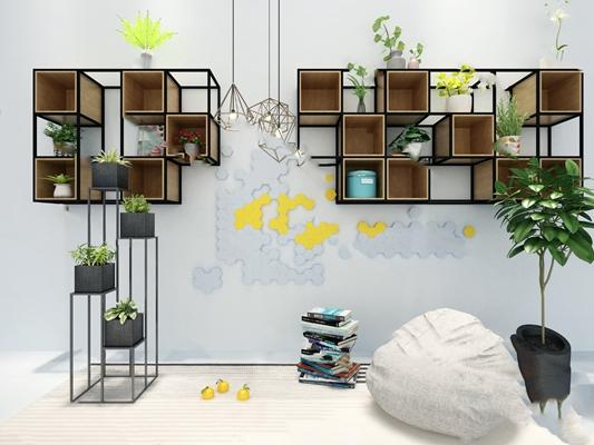 置物柜3D模型【ID:220010835】