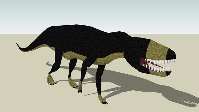 kirkpatricki波斯特鳄属SU模型【ID:739948511】