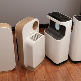 现代空气净化器3D模型【ID:128407441】