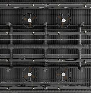 工業風管道吊頂通風口3D模型【ID:731405774】