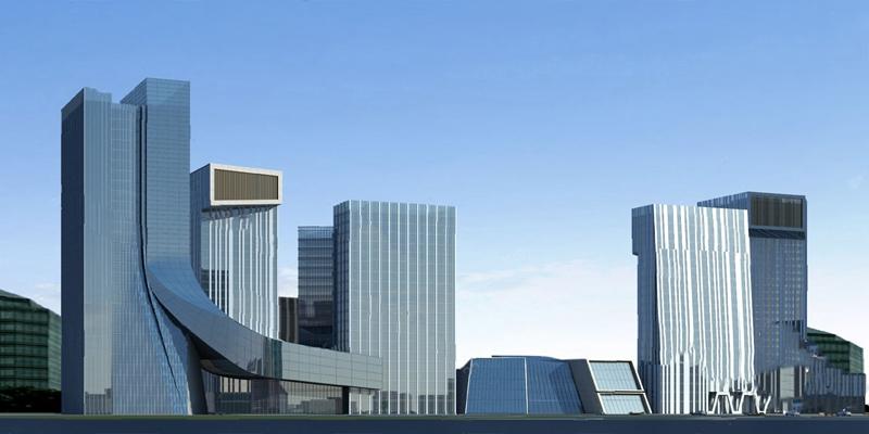 现代建筑3D模型【ID:920608523】