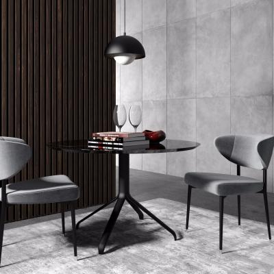 Minotti現代休閑桌椅吊燈組合3D模型【ID:327791679】