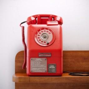 现代复古电话机3D模型【ID:427837668】