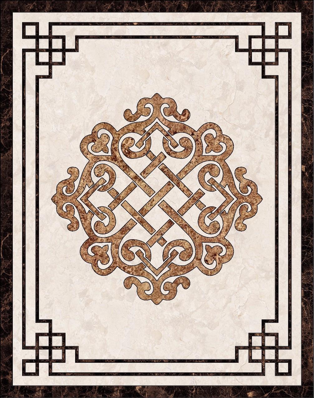 中式地面瓷砖高清贴图【ID:536806039】