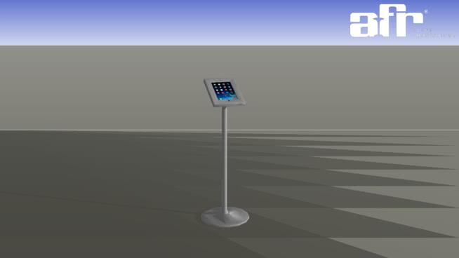 iPad展台银饰SU模型【ID:139952353】