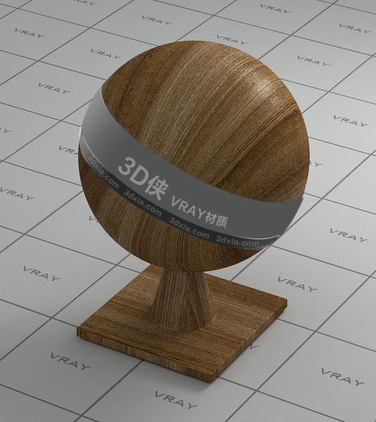 浅棕色木头Vray材质【ID:736463391】