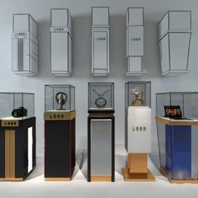 现代展示柜3D模型【ID:326234594】