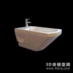 妇洗器国外3D模型【ID:929860932】