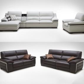 现代多人沙发3D模型【ID:928187988】