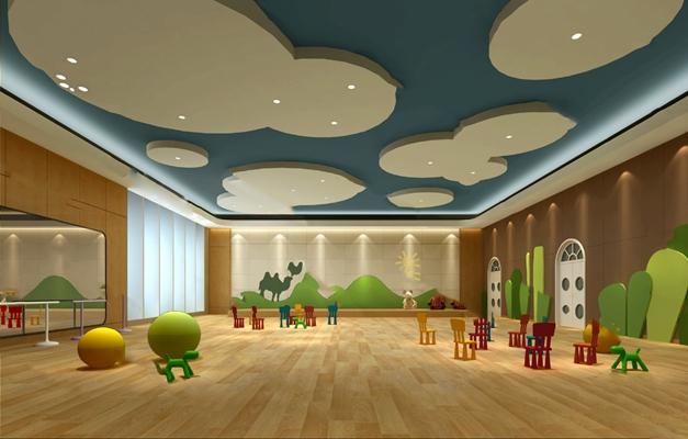 幼儿园3D模型【ID:120014886】