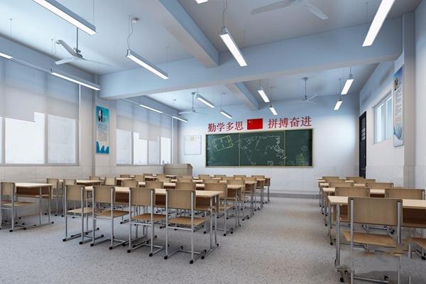現代普通教室3D模型【ID:528221861】
