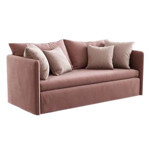 現代簡約雙人沙發3D模型【ID:632398517】