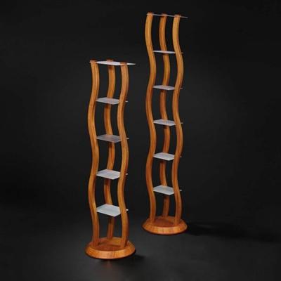 木艺置物架3D模型【ID:814934941】