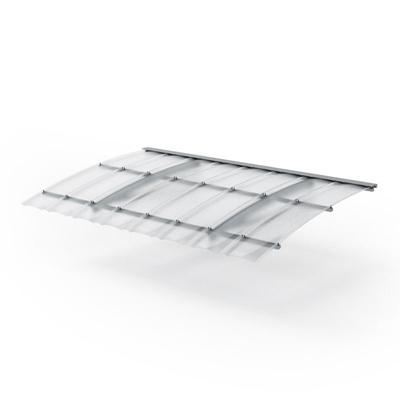 长方形塑料雨搭3D模型【ID:815036315】