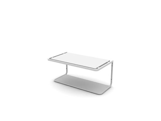 白色铁艺置物架3D模型【ID:815338919】