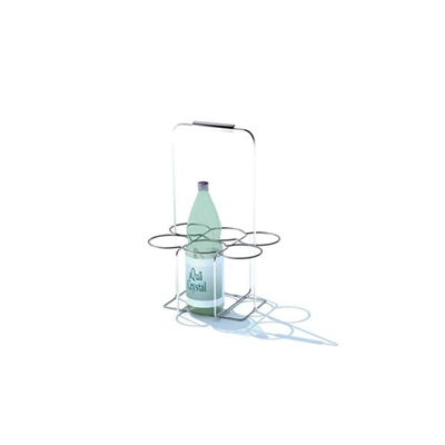银色铁艺酒架3D模型【ID:815343832】