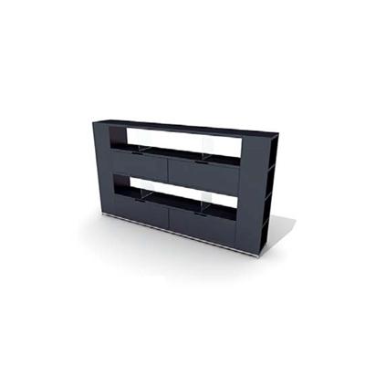 黑色塑料置物架3D模型【ID:815389901】
