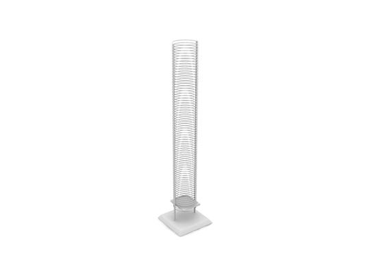 白色圆柱形伞架3D模型【ID:815431180】