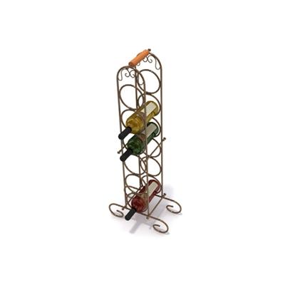 铁艺酒架3D模型【ID:815443812】