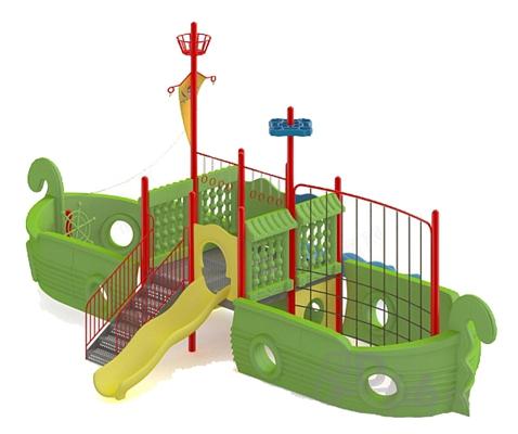 儿童器材组合13D模型【ID:817186040】