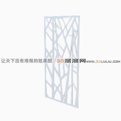 铁艺栏杆73D模型【ID:817259909】