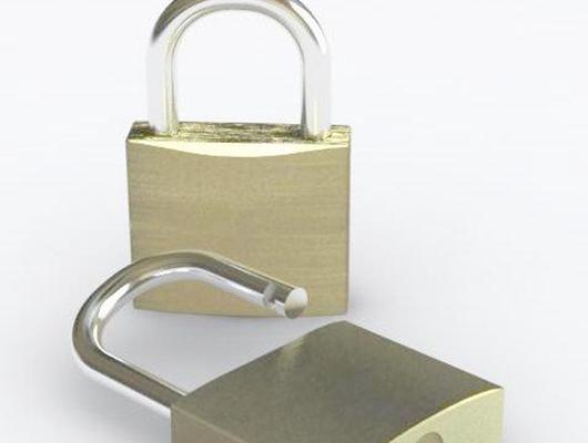 门锁13D模型【ID:817264433】