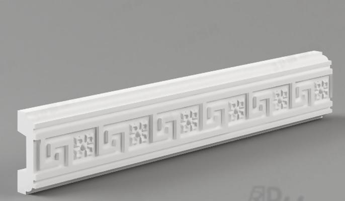石膏线483D模型【ID:817290435】