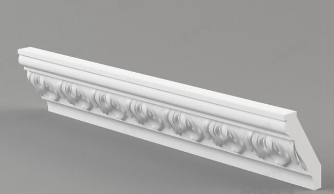 石膏线1083D模型【ID:817292457】