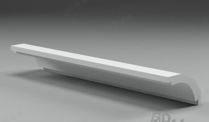 石膏线1163D模型【ID:817292493】