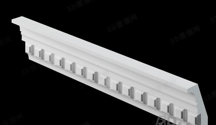 石膏线1583D模型【ID:817294415】
