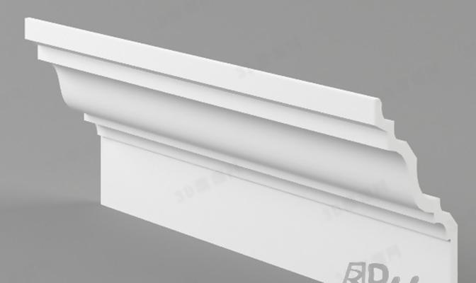 石膏线1673D模型【ID:817294446】