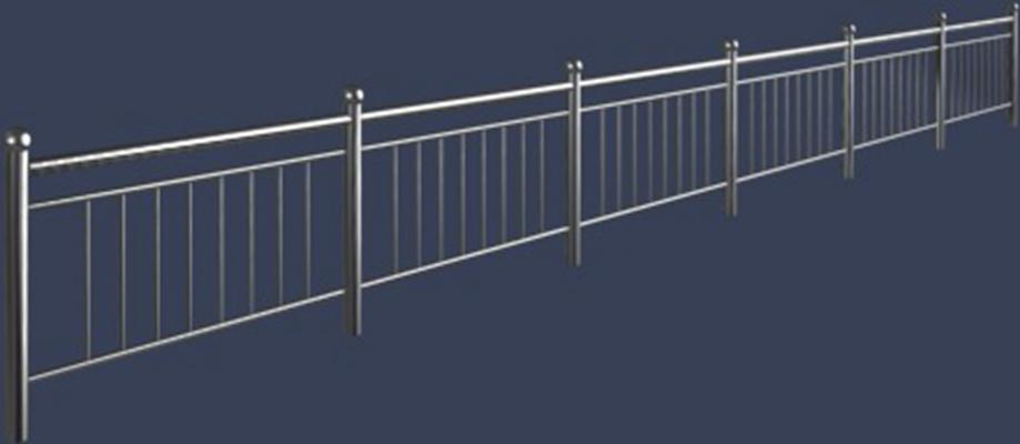 栏杆33D模型【ID:817525560】