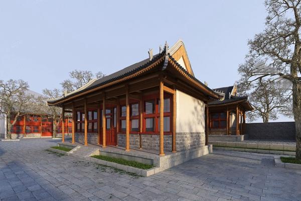 中式建筑3D模型【ID:620013071】