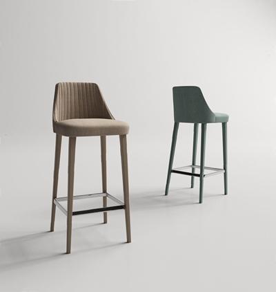 現代吧椅3D模型【ID:327931135】