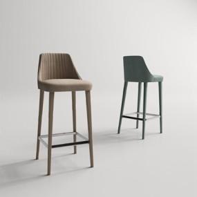 现代吧椅3D模型【ID:327931135】