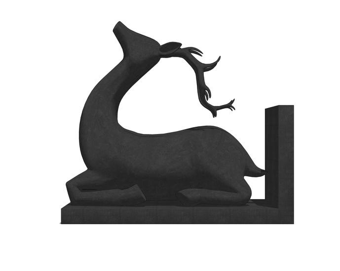 动物摆件SU模型【ID:936445646】