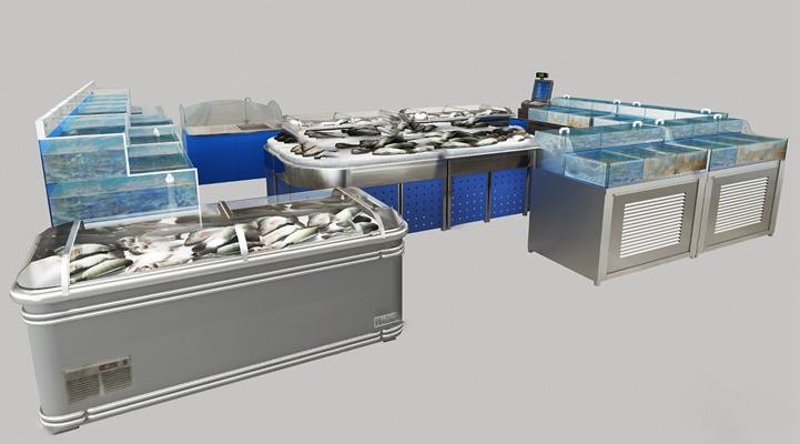 现代货柜3D模型【ID:124886241】