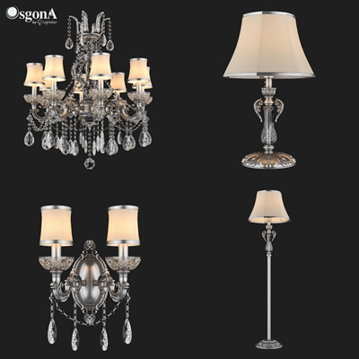 精美歐式古典燈具3D模型【ID:928160835】